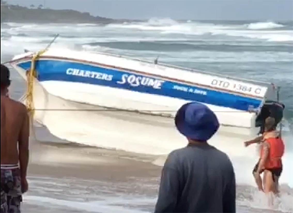 Margate capsize