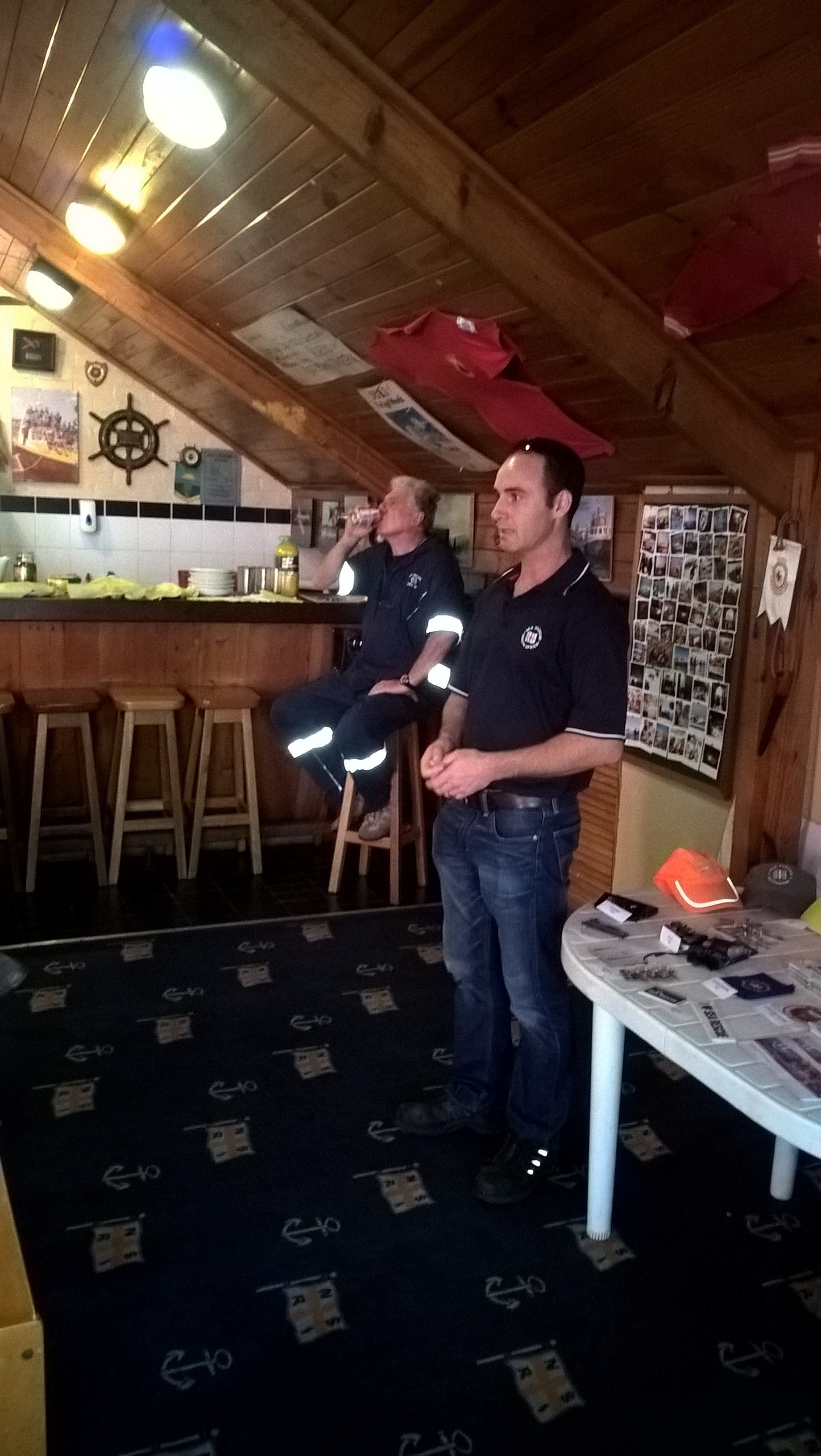 Quentin Botha (Station Commander) sharing a rescue story