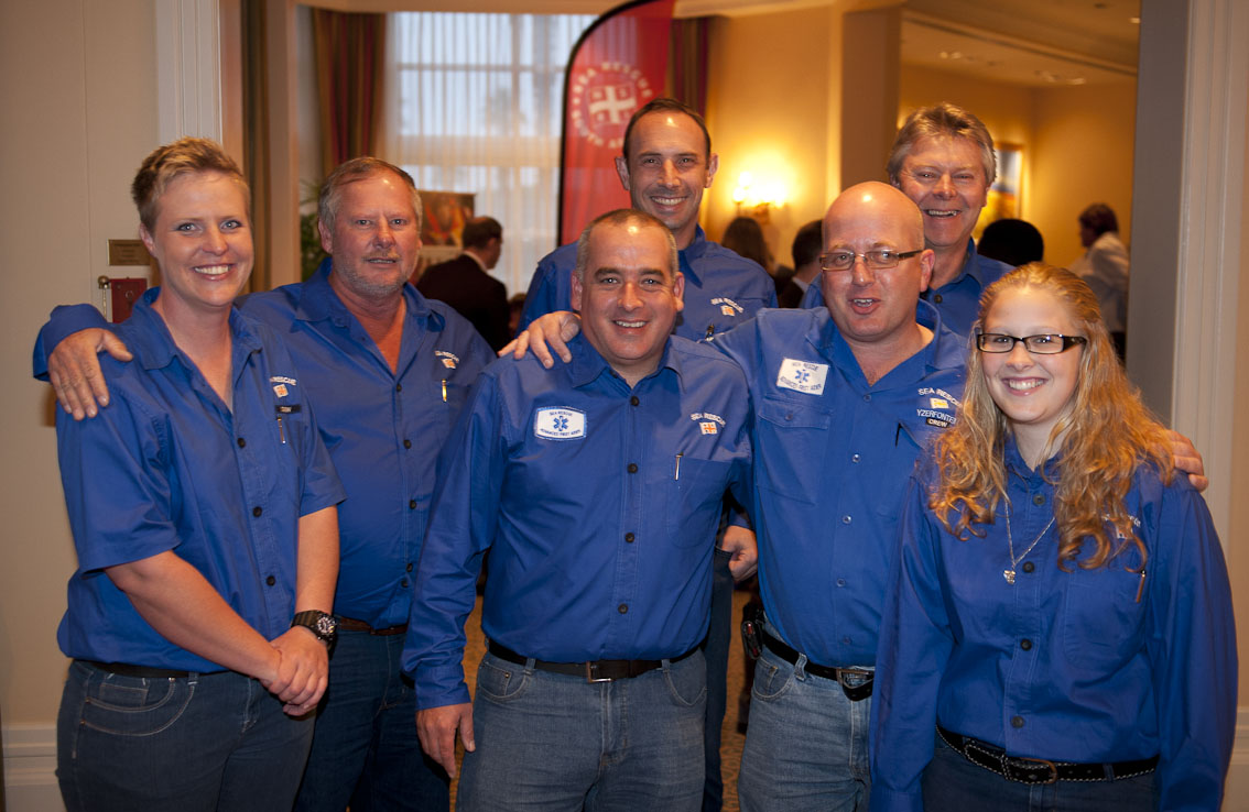 The Yzerfontein crew at the event.