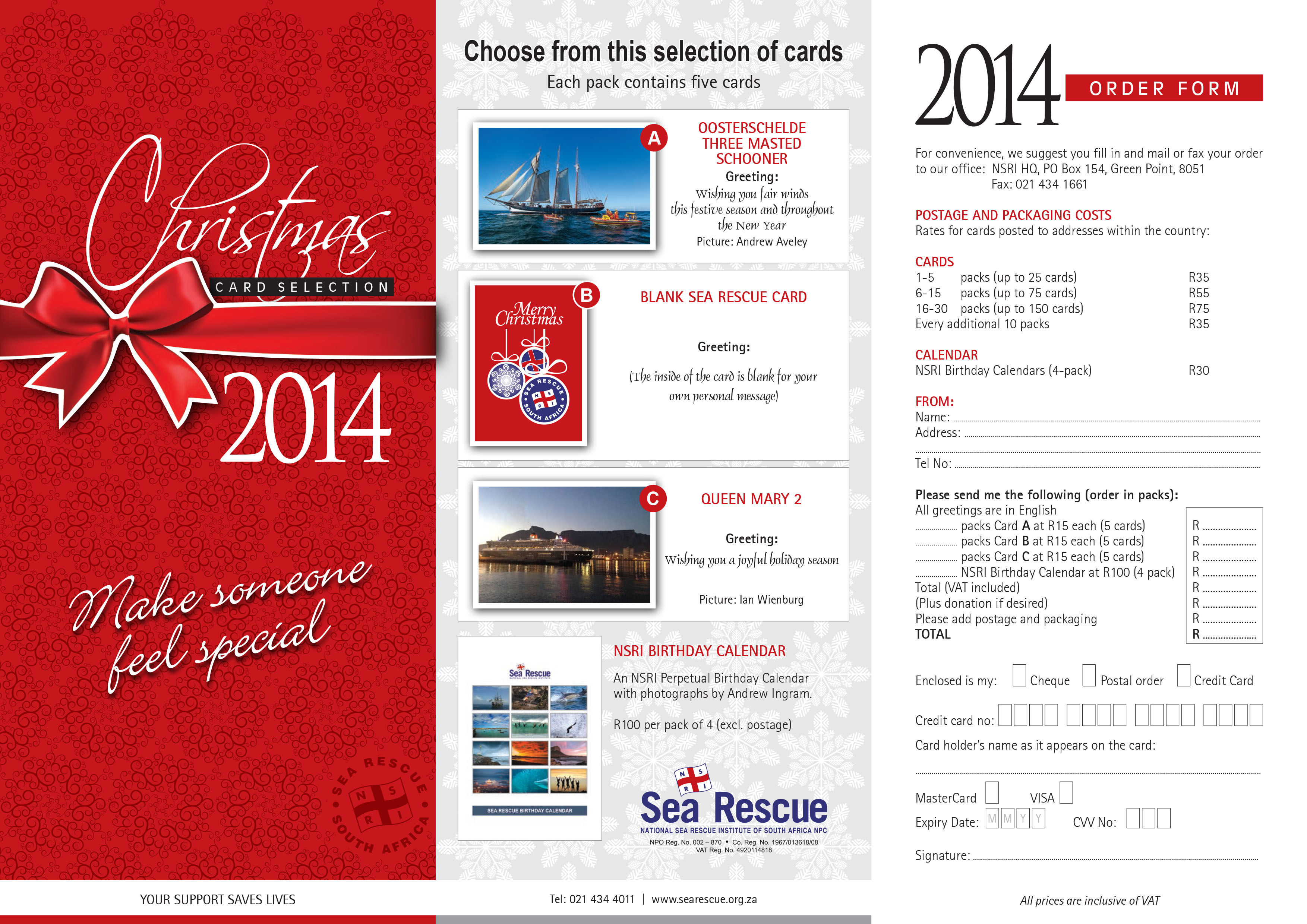X-Mas Card Order Form - WEB