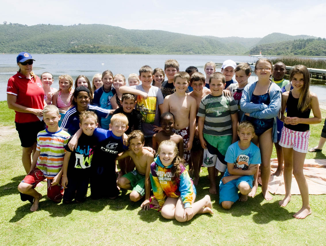Glenwood House Grade 4's raised money for me to give to the Wilderness NSRI on Saturday during their NSRI fundraising event.