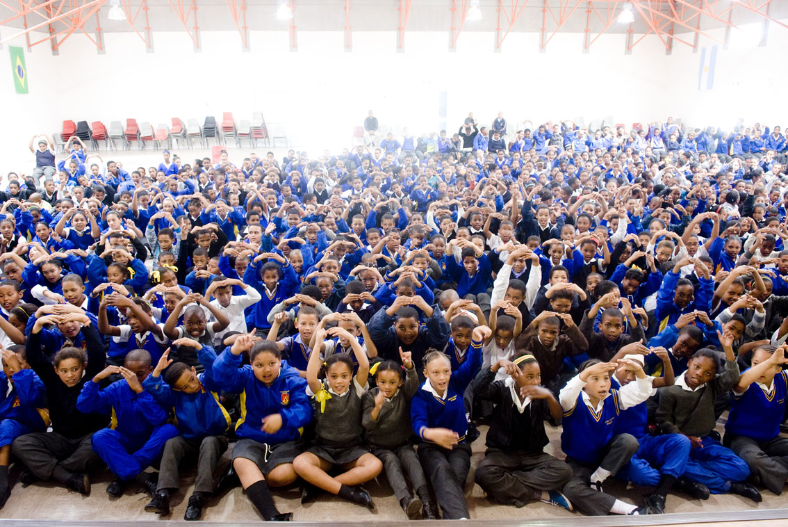 Pacaltsdorp Primary learning the emergency number 10177.