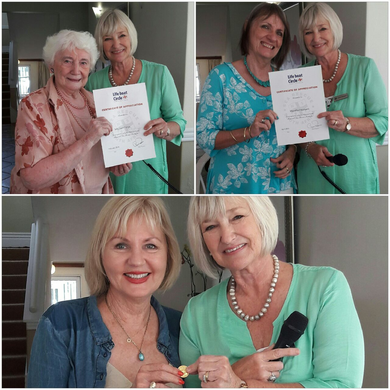 Joan Forge, Martha Heymans and Lynne Neilson
