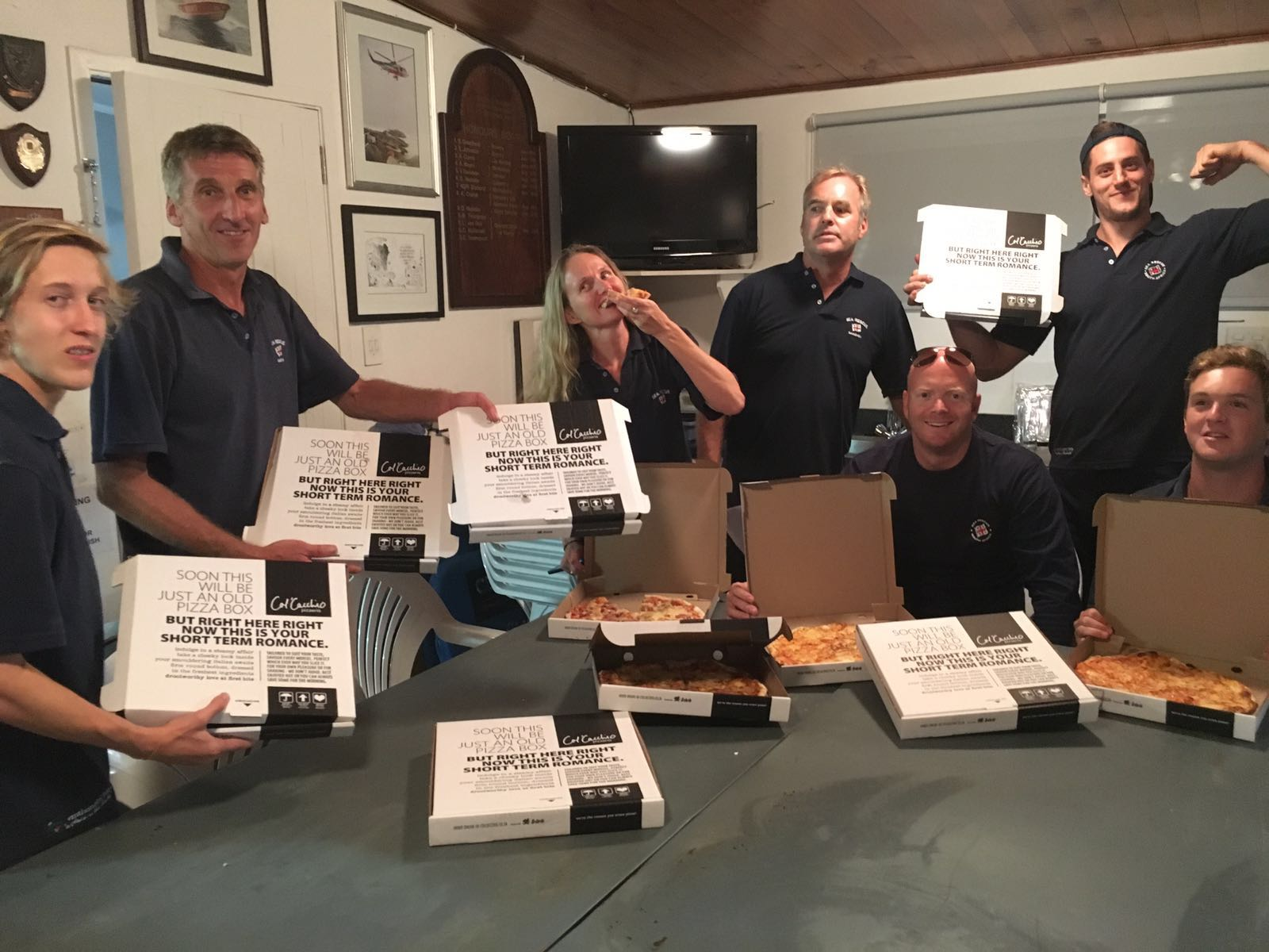 Thanks to Cal Cacchios for supplying free pizzas to the Bakoven crew who worked so hard during Moonstruck!