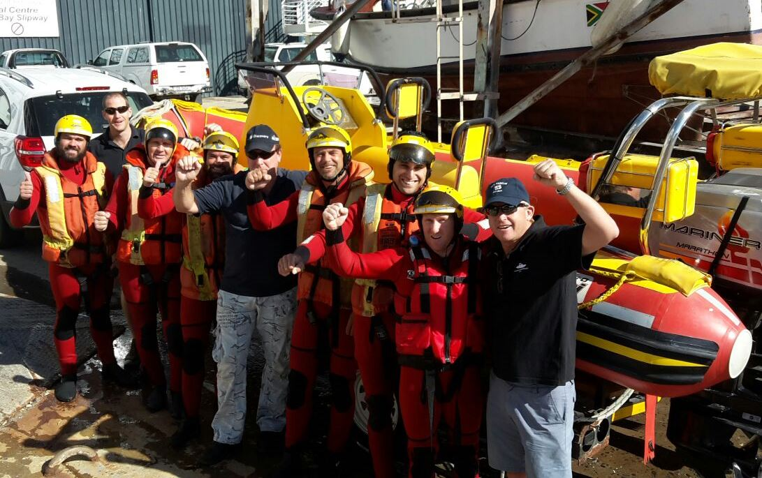 Visit to the Survival Centre for capsize drills