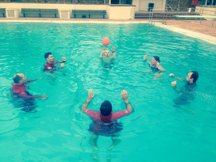 Fitness session at Sea Point pool