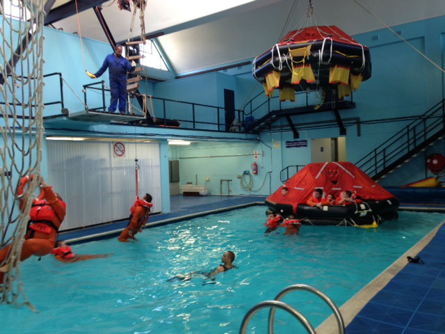 Proficiency for Life Raft course: - NSRI