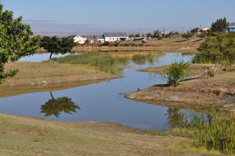 By hierdie dam in Saron het 'n volwasse persoon die afgelope maand verdrink.