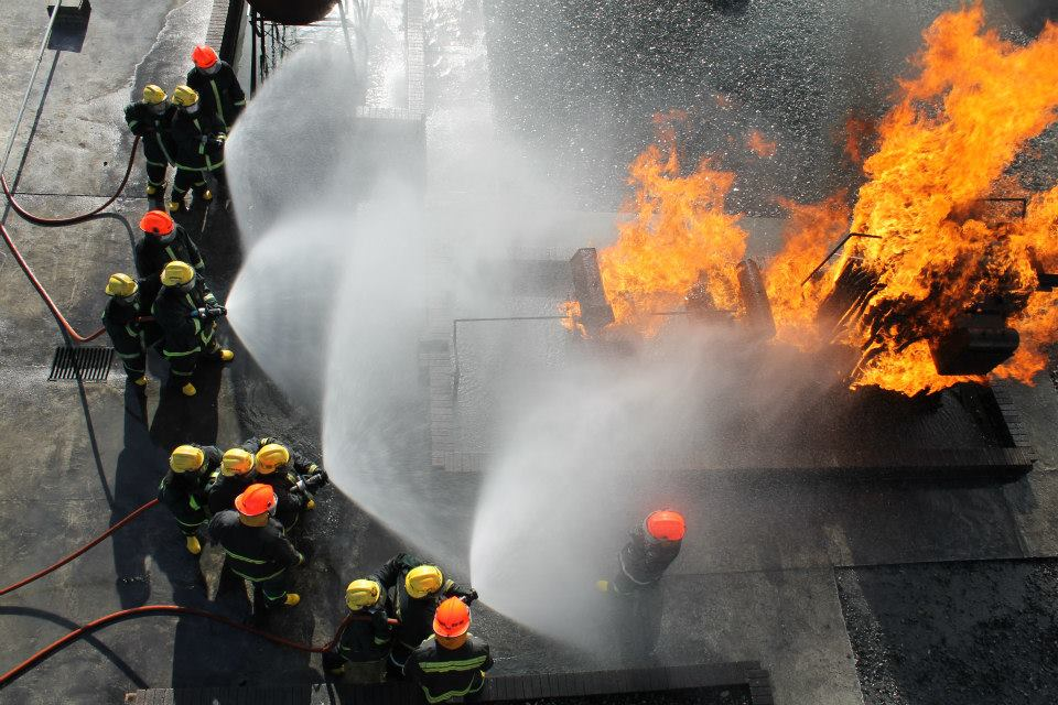 firefighting course 08