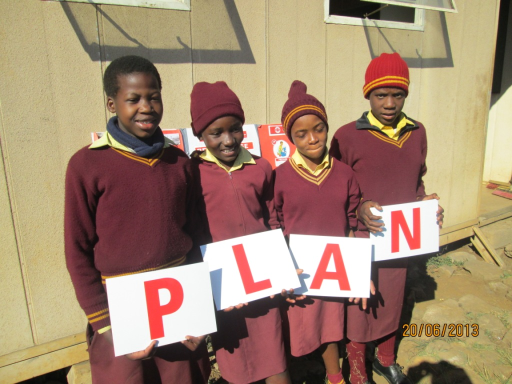 Children at Hawkstone learn how to make a PLAN.