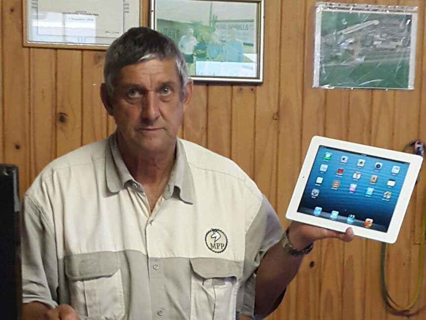 Don Swales of Glenside (KZN) was one of our iPad winners.