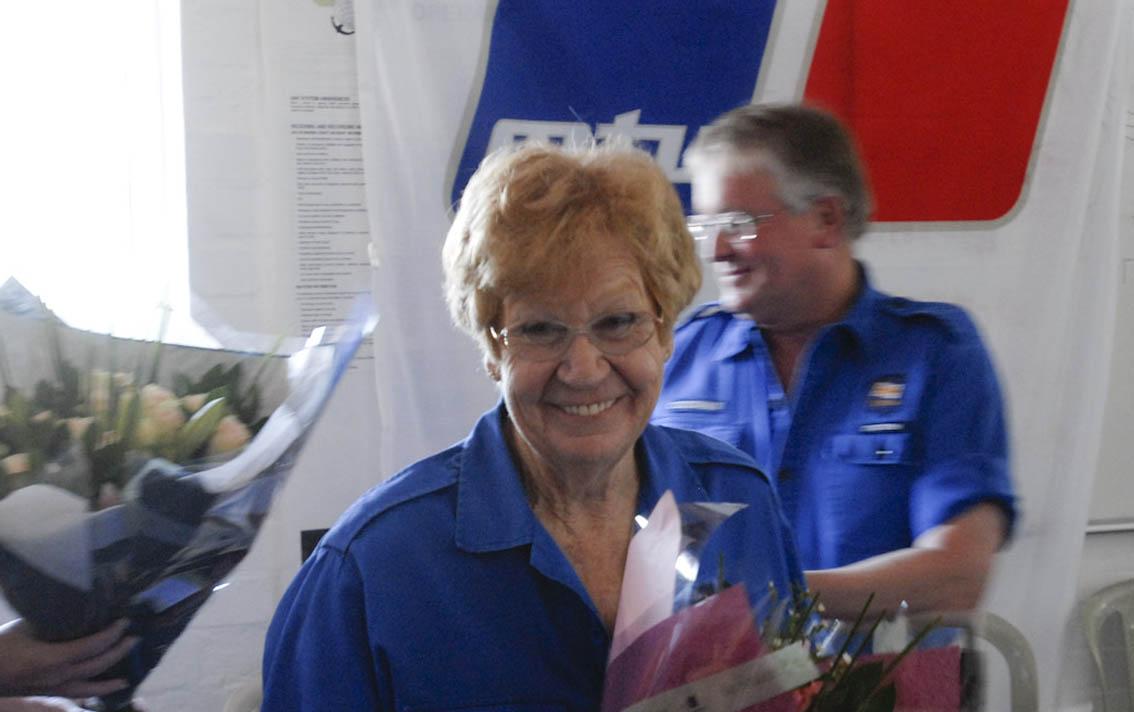 Margi Benson.