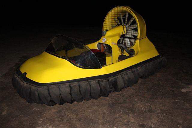 The hovercraft.