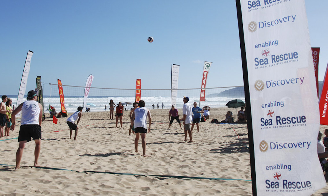 The 2012 wilderness volleyball was a great success - book your place for 2013!