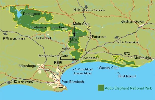 Map source: SANPARKS